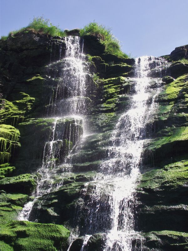 Tintagel waterfalls