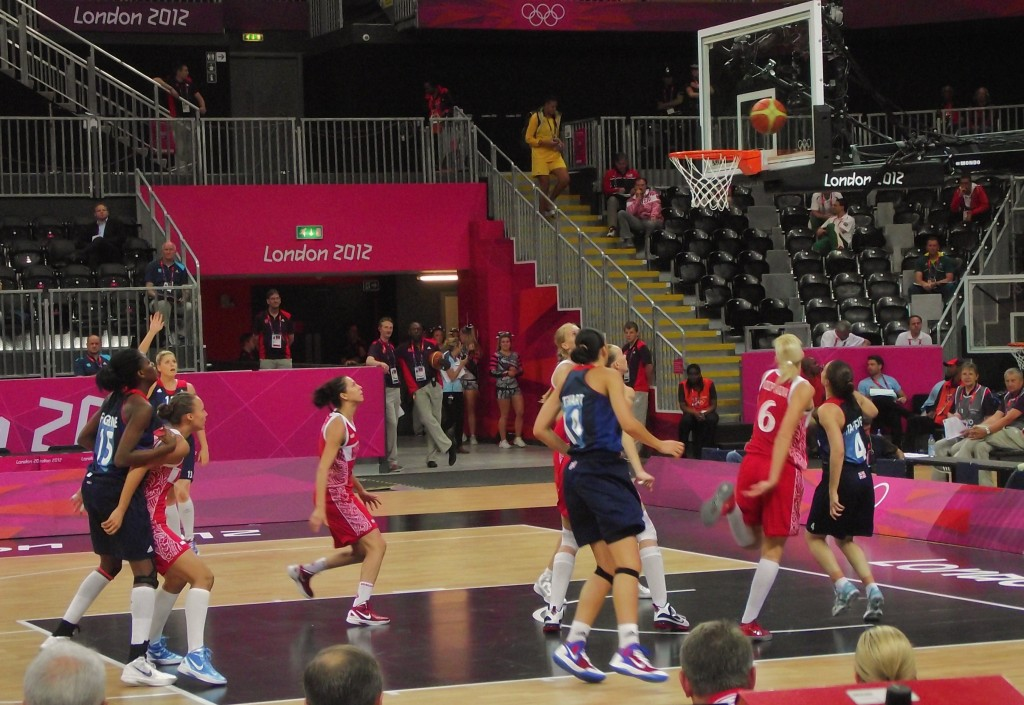 Olympics Basketball Team GB