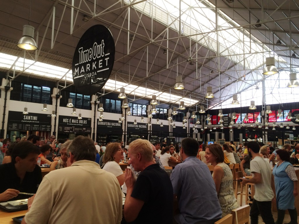 Lisbon's Time Out Market, Cais do Sodre