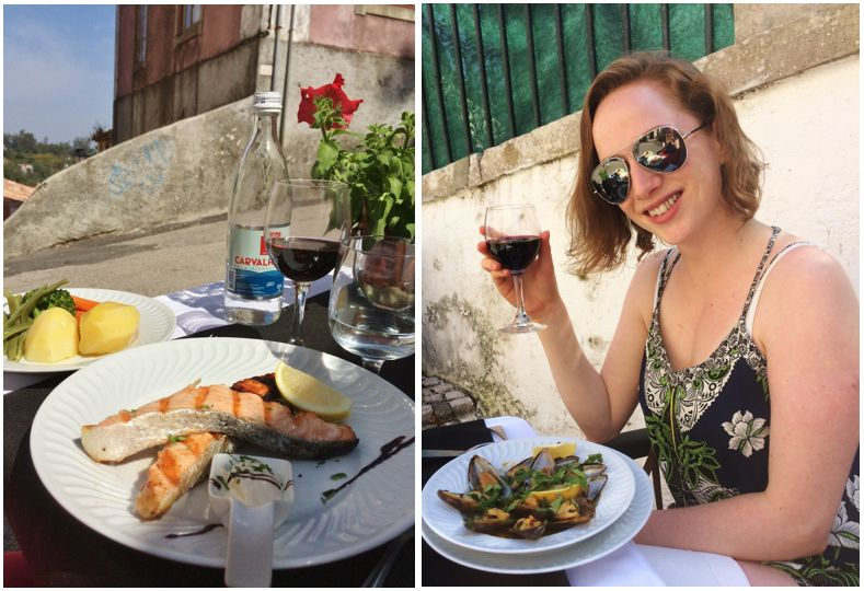 A gorgeous lunch at Tacho Real, Sintra